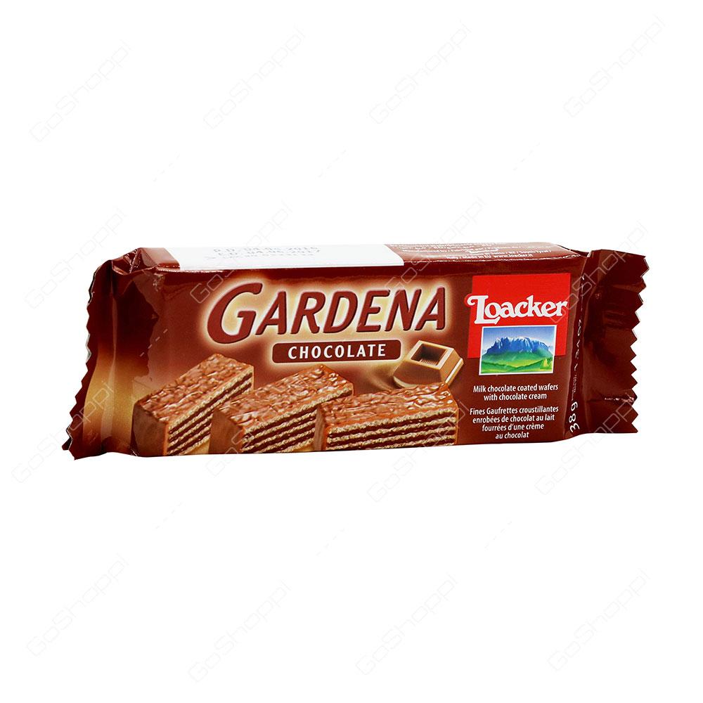 Loacker Gardena Chocolate Wafers 38 g