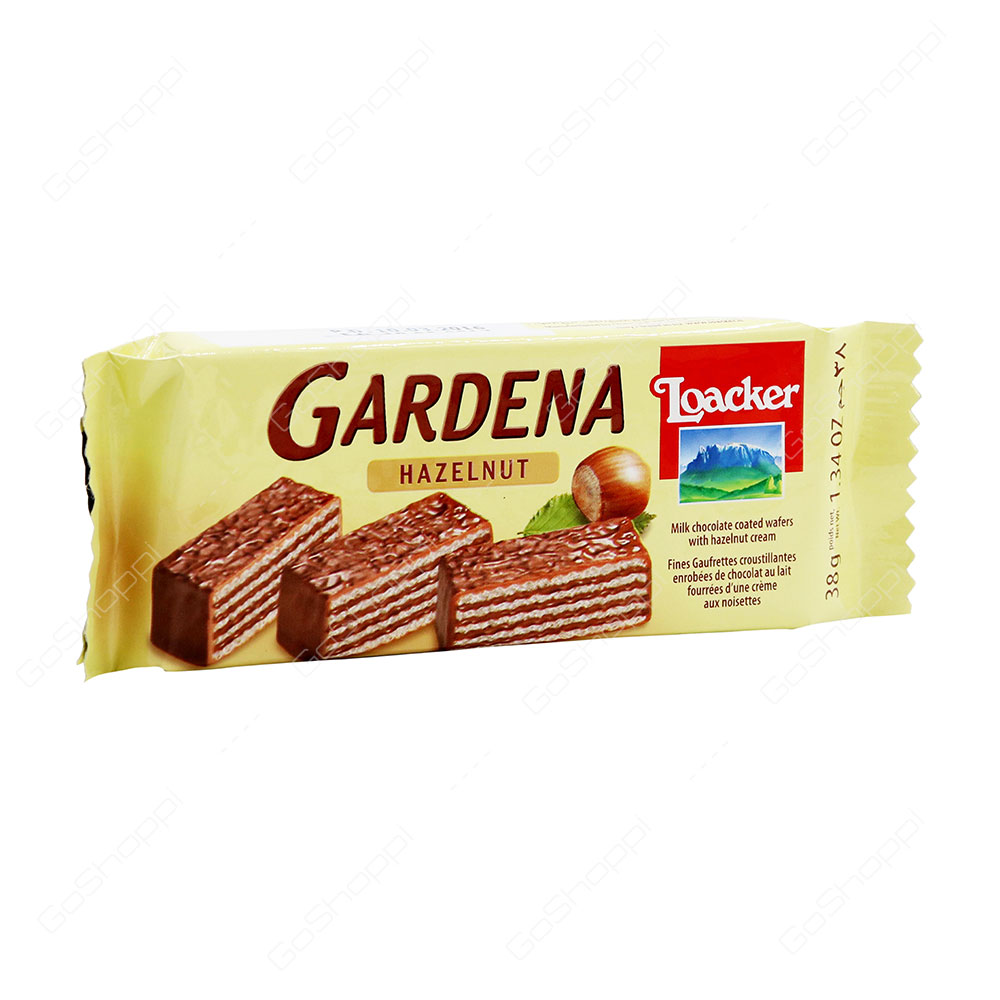 Loacker Gardena Hazelnut Wafers 38 g