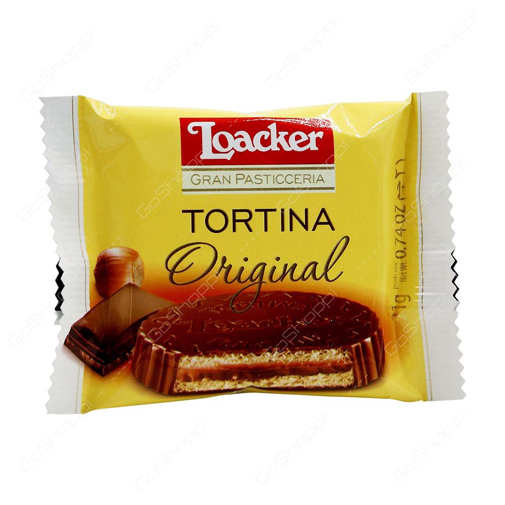 Loacker Tortina Original Wafer 21 g