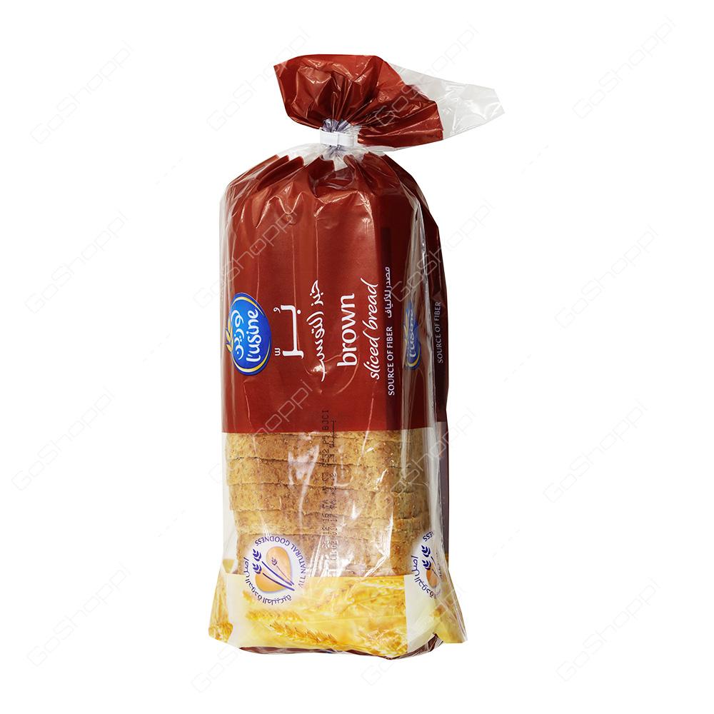 Lusine Brown Sliced Bread  600 g