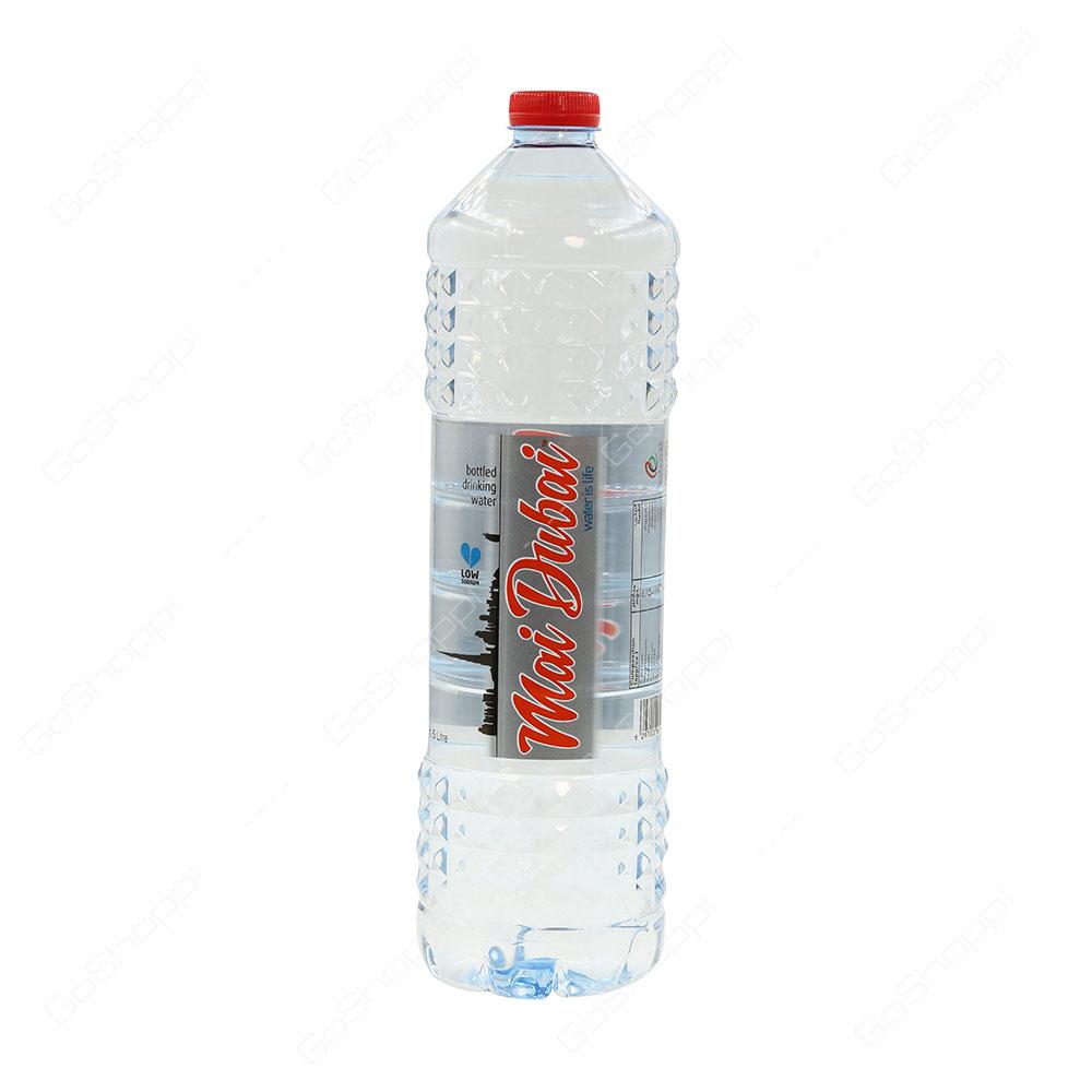 Mai Dubai Low Sodium Bottled Drinking Water 1.5 l