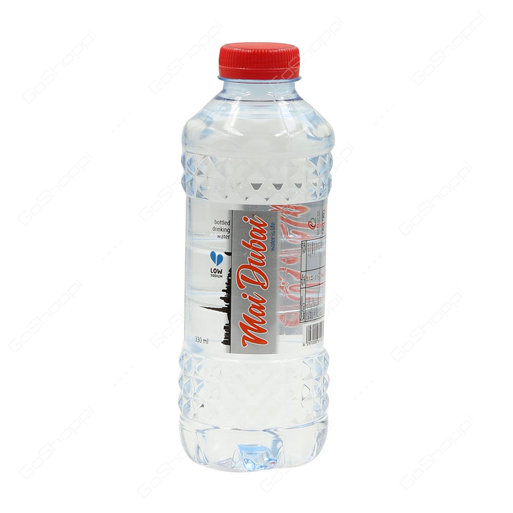 Mai Dubai Low Sodium Bottled Drinking Water 330 ml