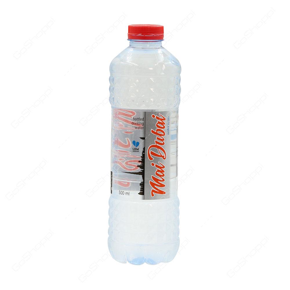 Mai Dubai Low Sodium Bottled Drinking Water 500 ml