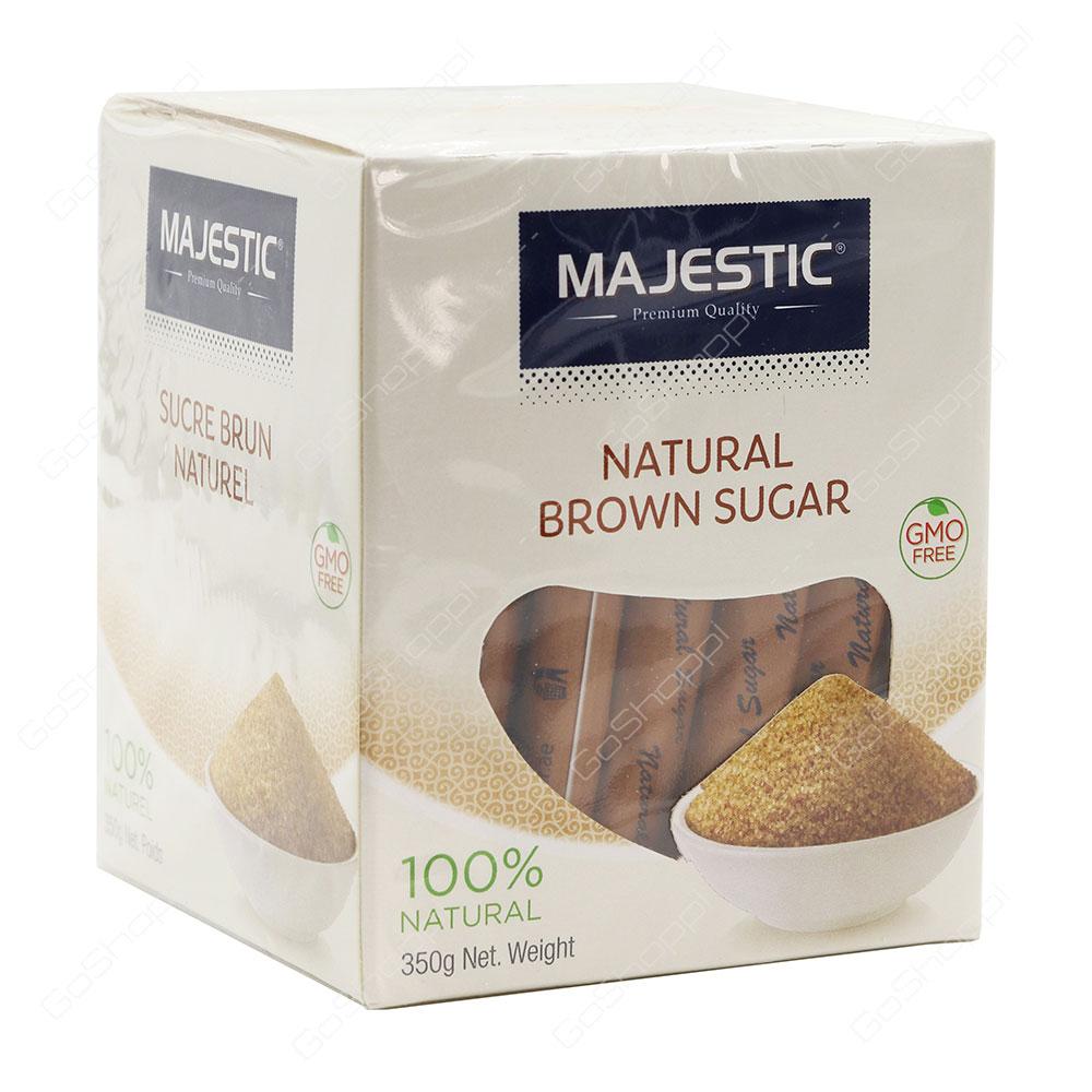Majestic Natural Brown Sugar 350 g