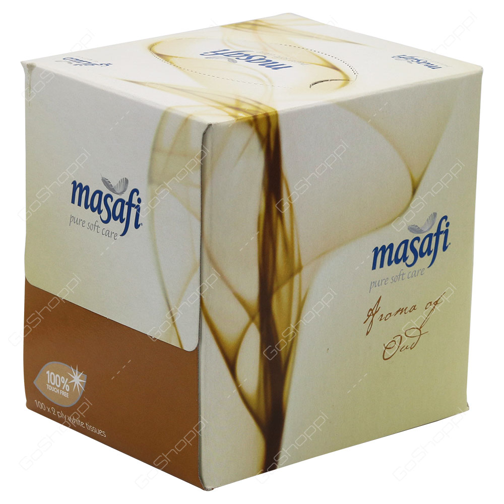 Masafi Aroma Of Oud Pure Soft Care Tissues 100 Tissues