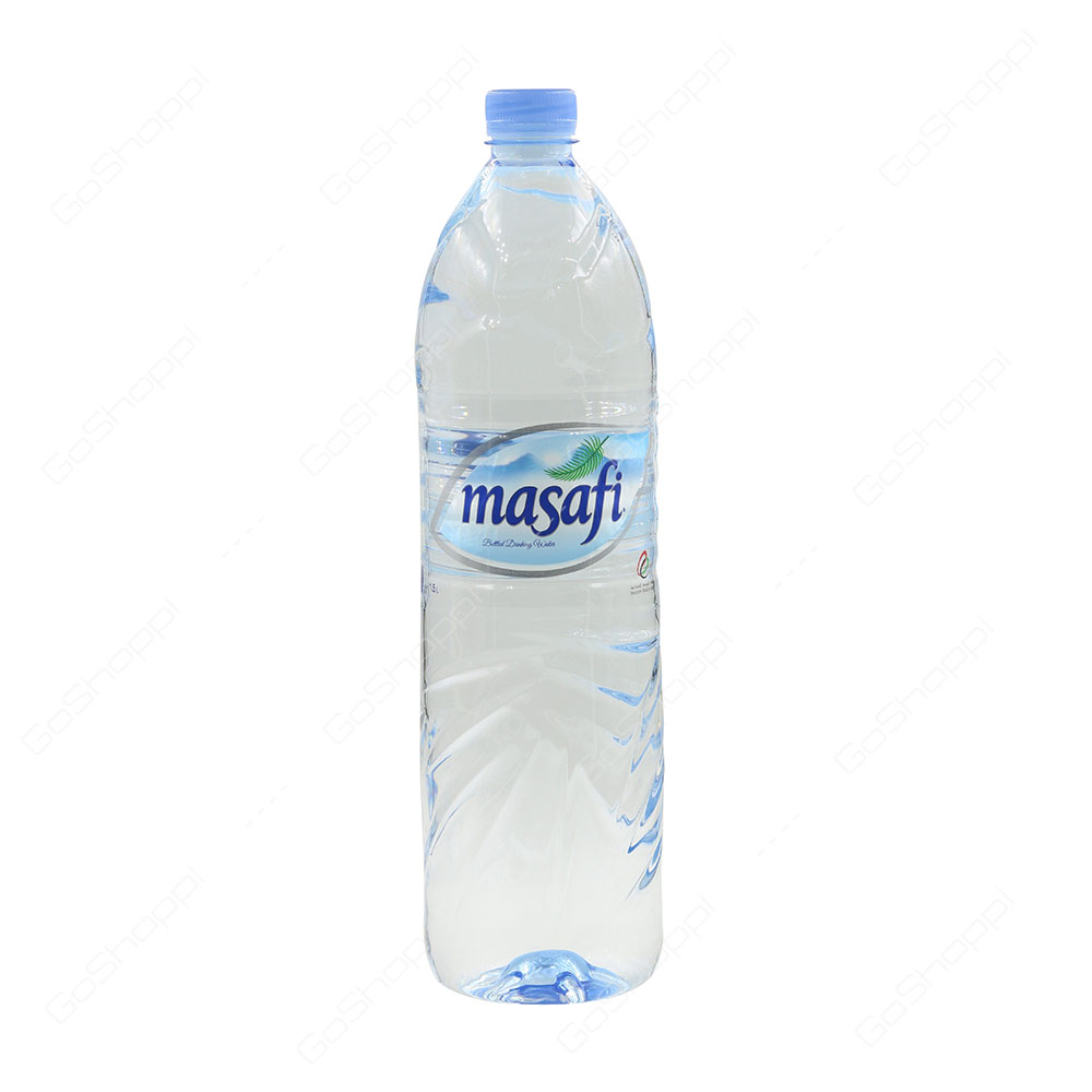 Masafi Low Sodium Bottled Drinking Water 1.5 l