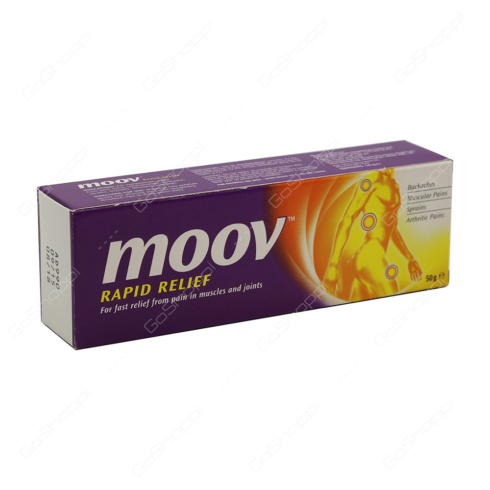 Moov Rapid Relief Ointment 50 g