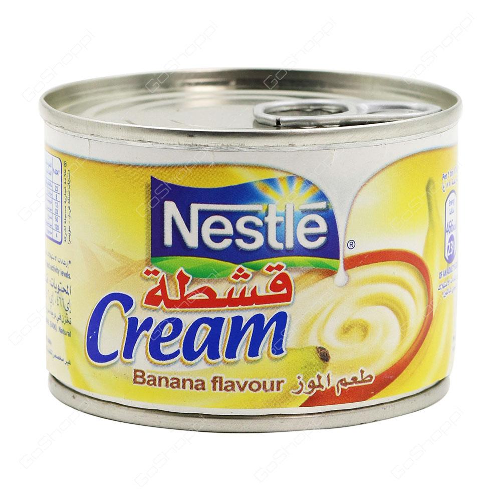Nestle Cream Banana Flavour 175 g