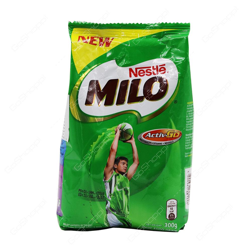 Nestle Milo Active Go Tonic Food Drink 300 g