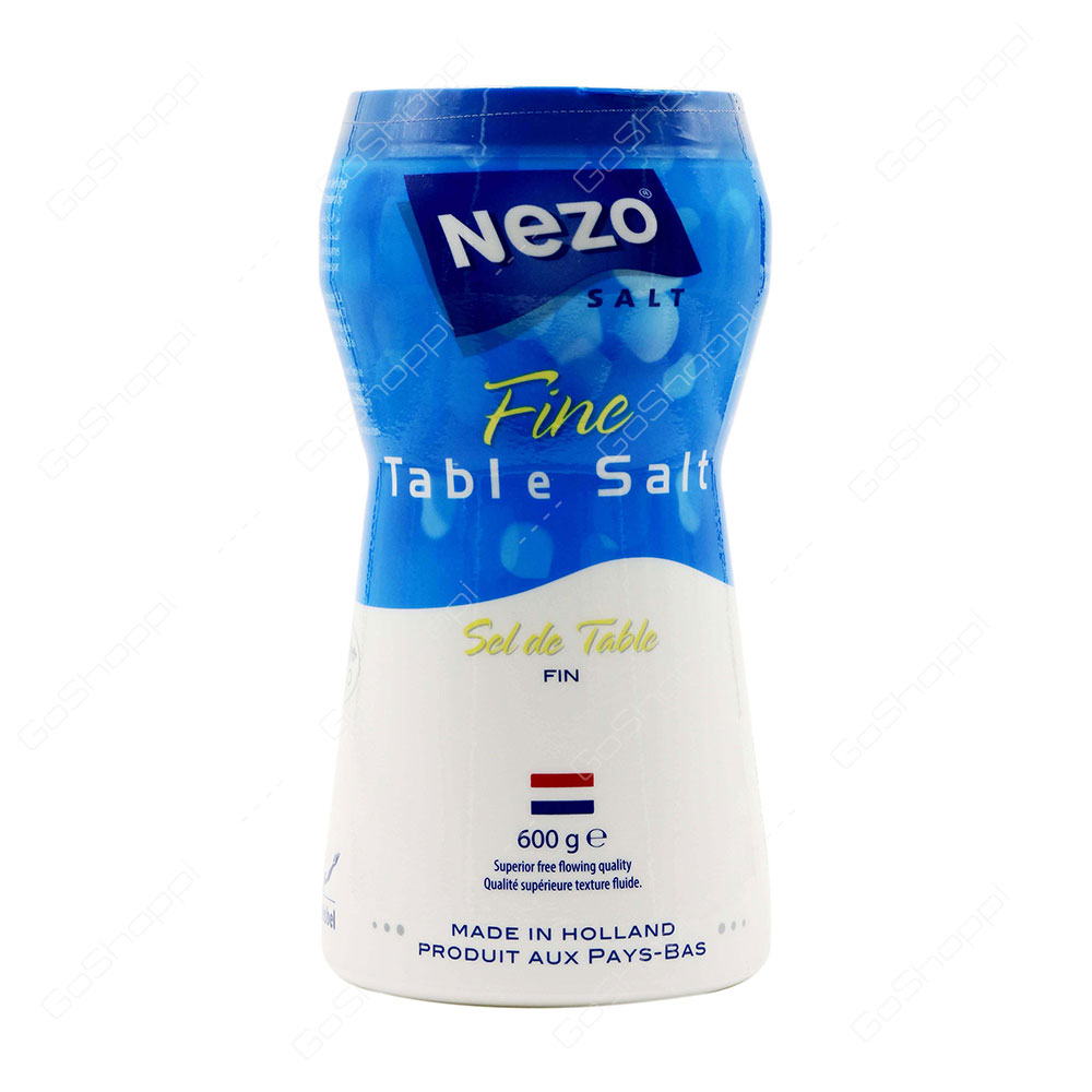Nezo Fine Table Salt 600 g