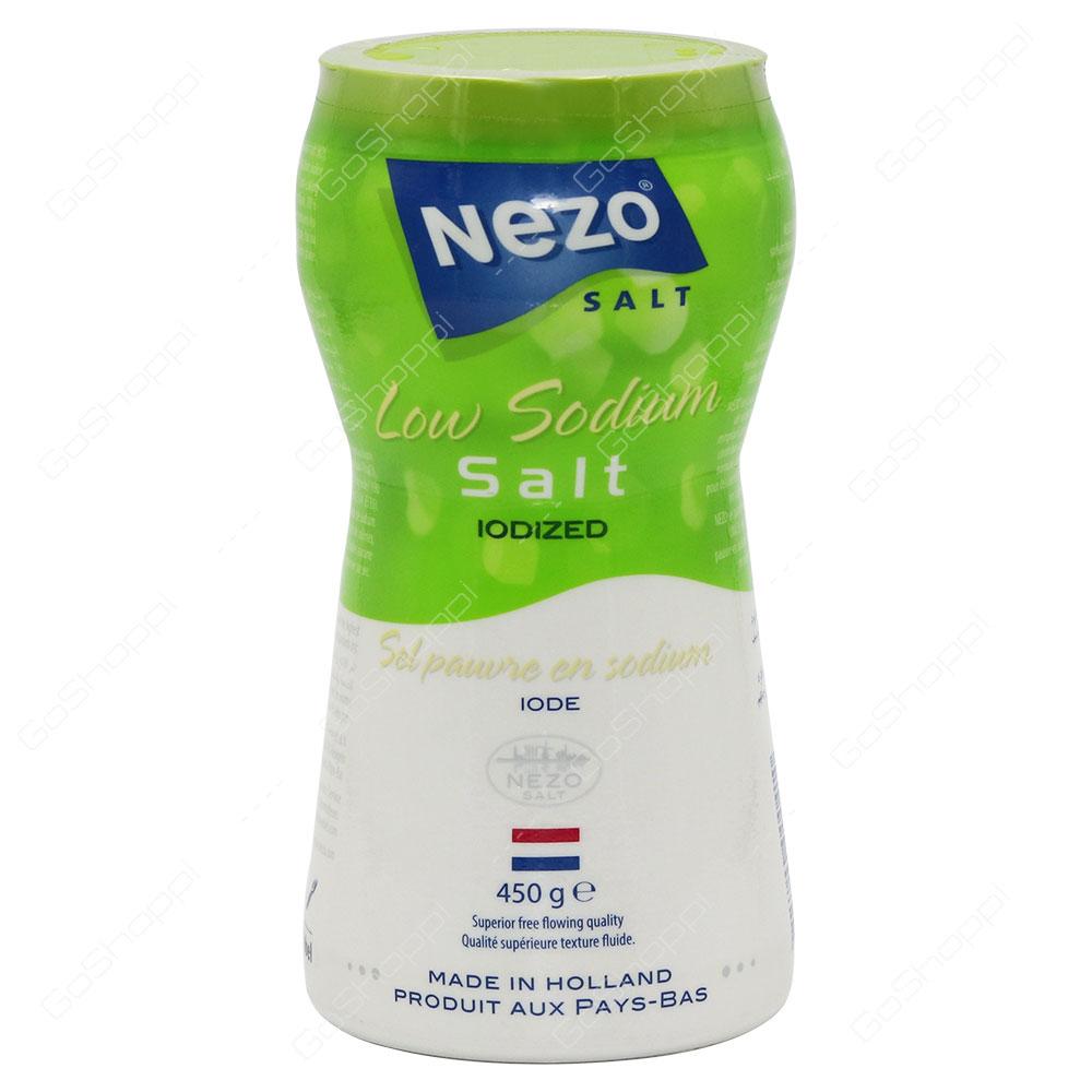 Nezo Low Sodium Salt Iodized 450 g