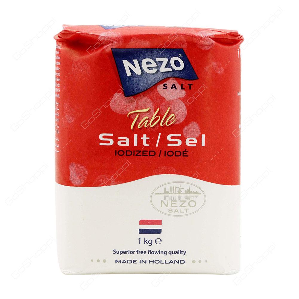 Nezo Table Salt Iodized 1 kg