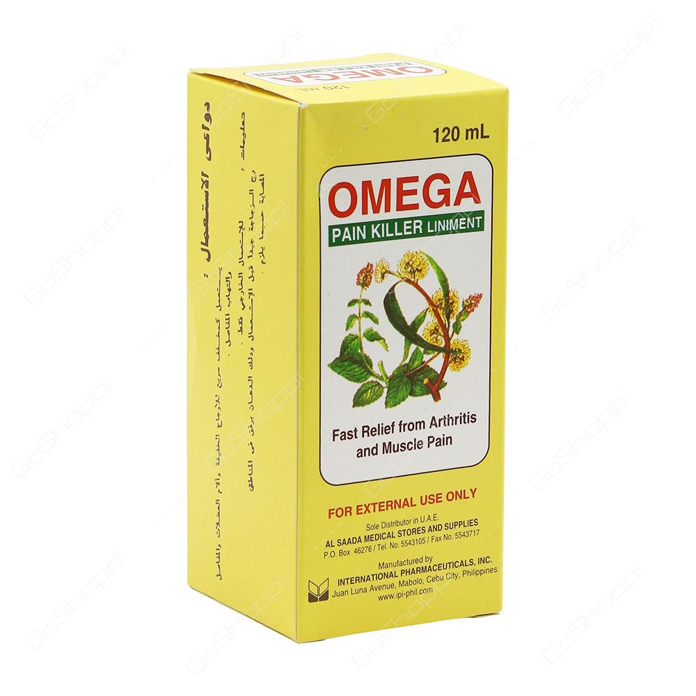 Omega Pain Killer Liniment 120 ml