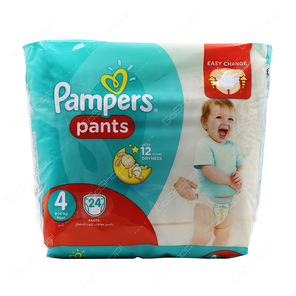 Pampers Pants Diapers Size 4 24 Diapers