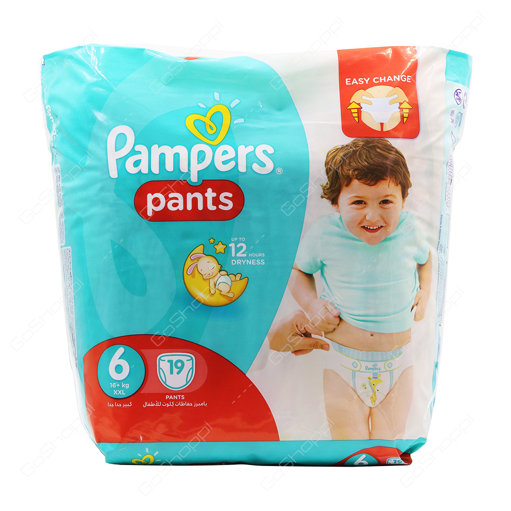 Pampers Pants Diapers Size 6 19 Diapers