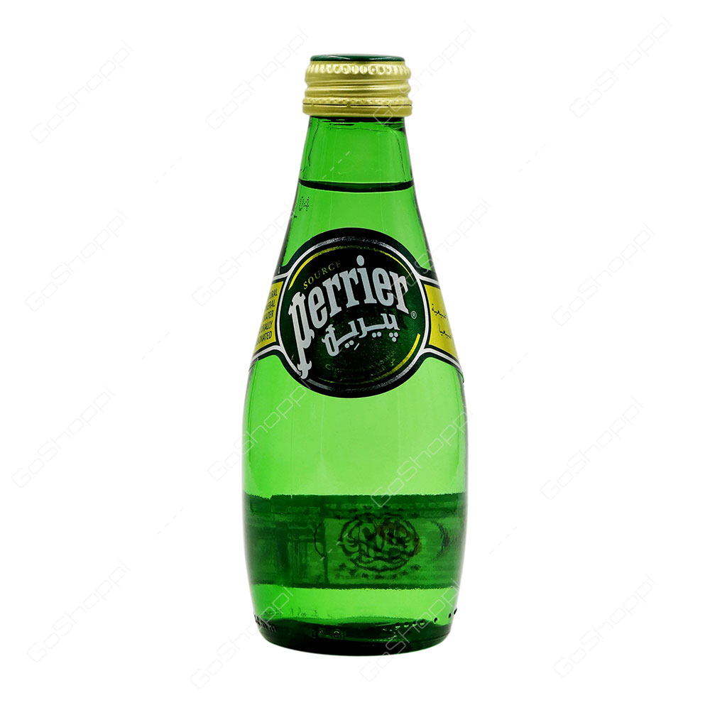 Perrier Natural Mineral Water 200 ml