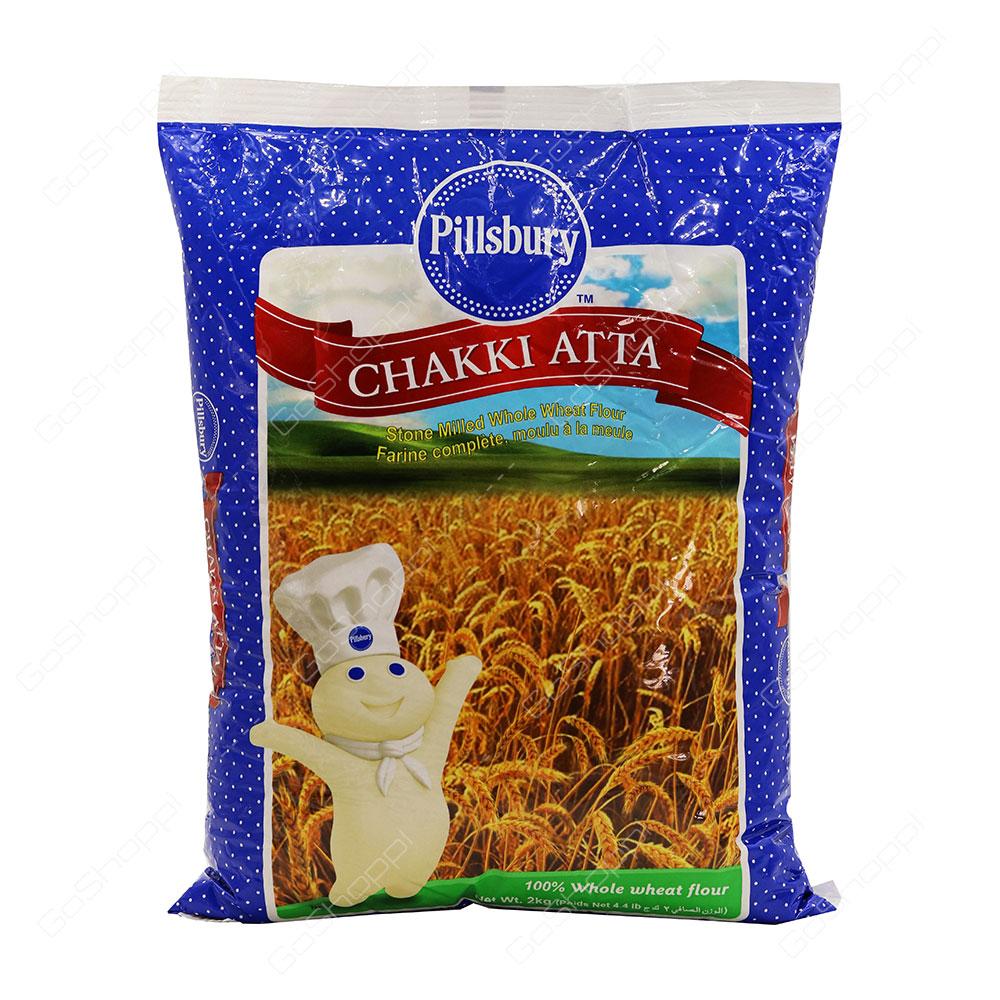 Pillsbury Chakki Atta Whole Wheat Flour 2 kg