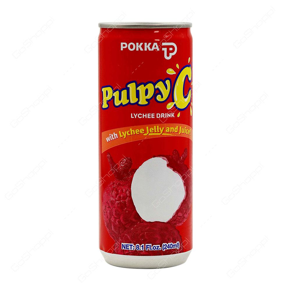 Pokka Pulpy C Lychee Drink 240 ml