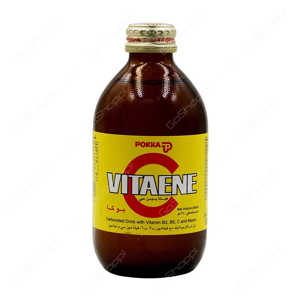 Pokka Vitaene C Carbonated Drink 240 ml