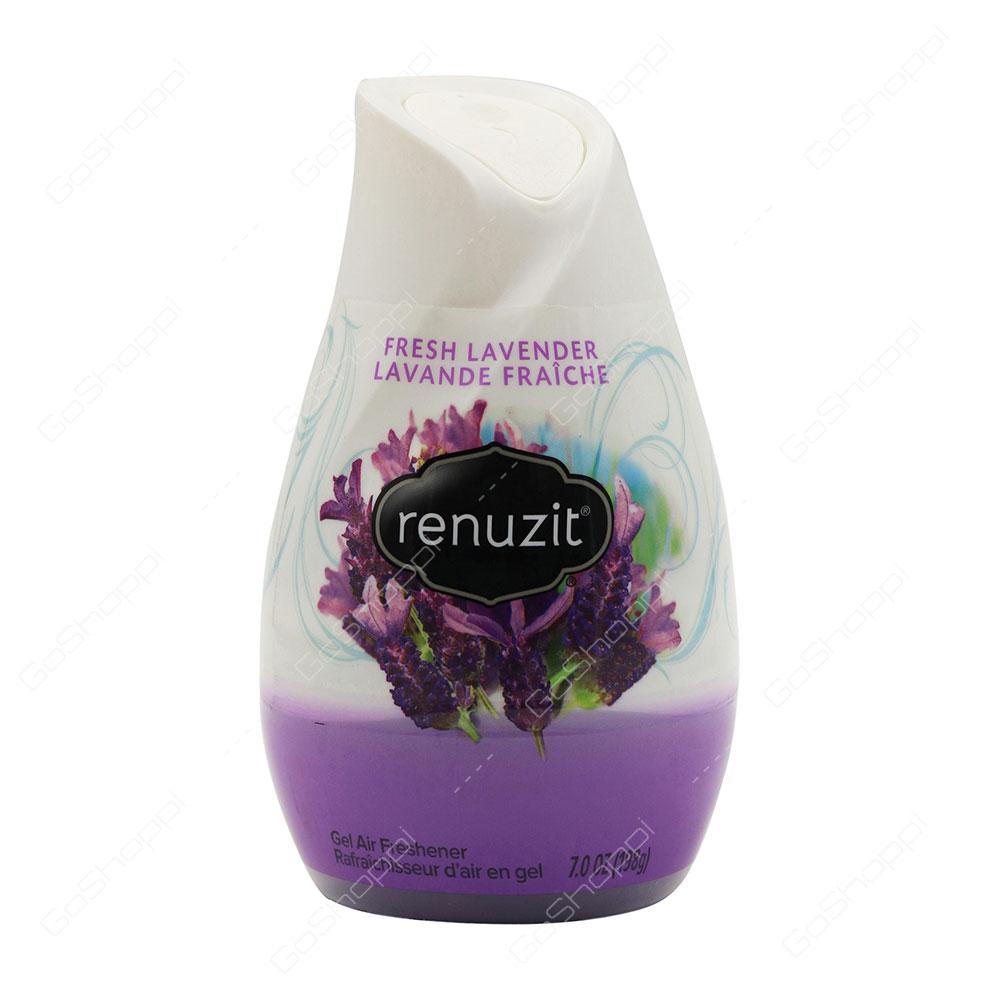 Renuzit Fresh Lavender Gel Air Freshener 198 g