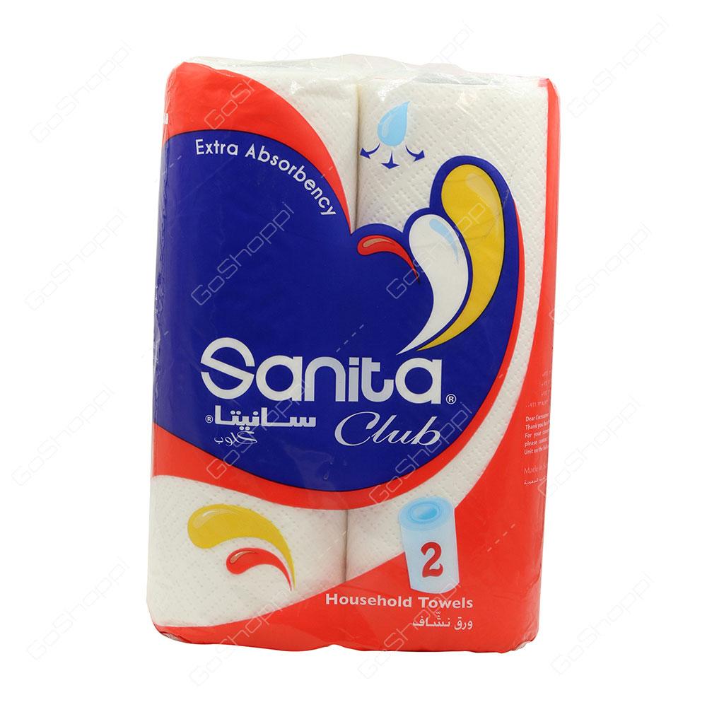 Sanita Club Household Towels 2 Rolls