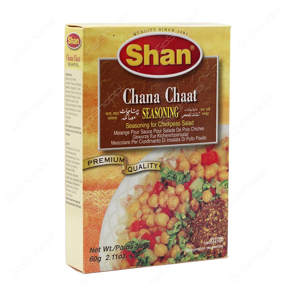 Shan Chana Chaat Seasoning 60 g