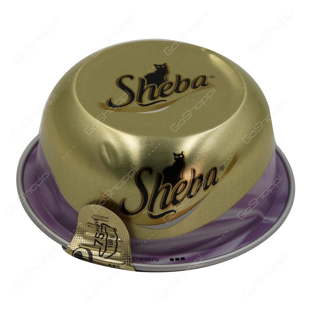 Sheba Tuna with Prawn Cat Food 80 g