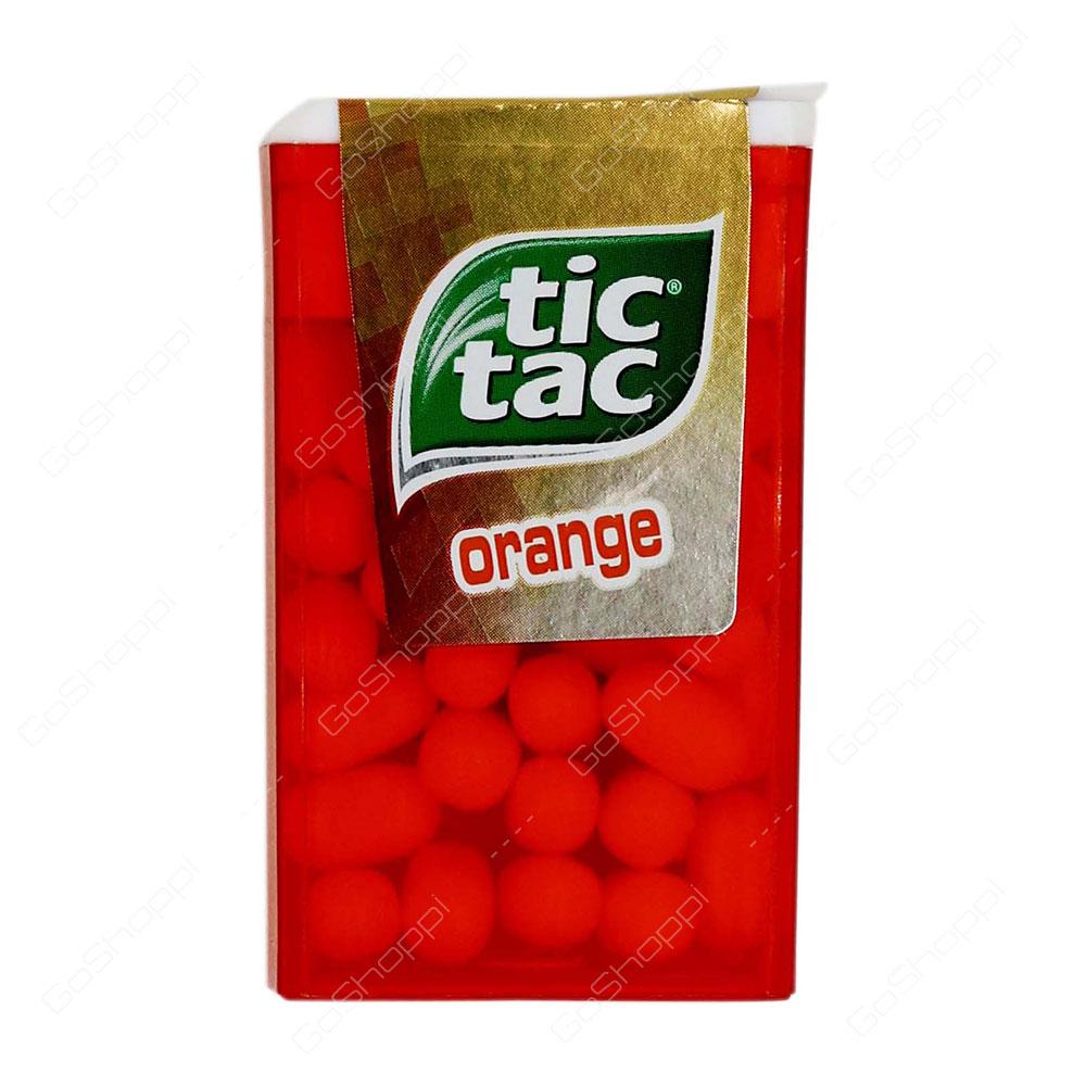 Tic Tac Orange 16 g