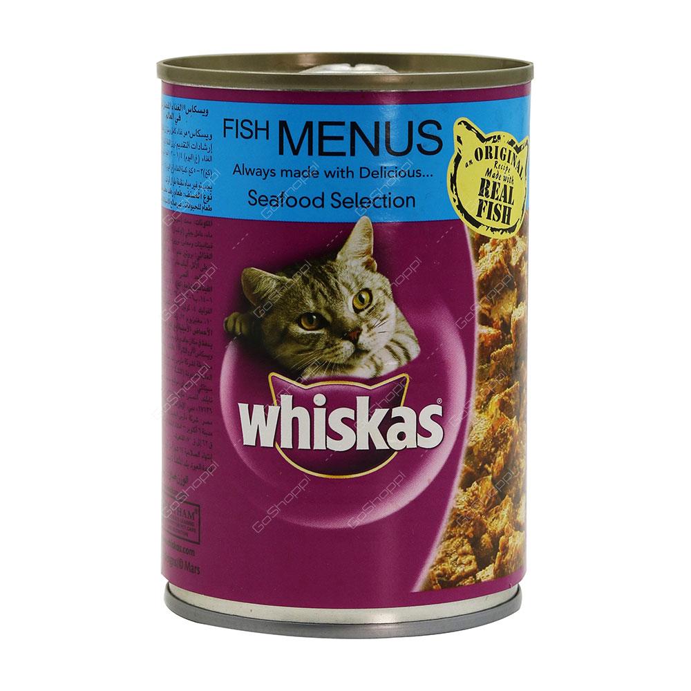 Whiskas Fish Menus Seafood Selection 400 g