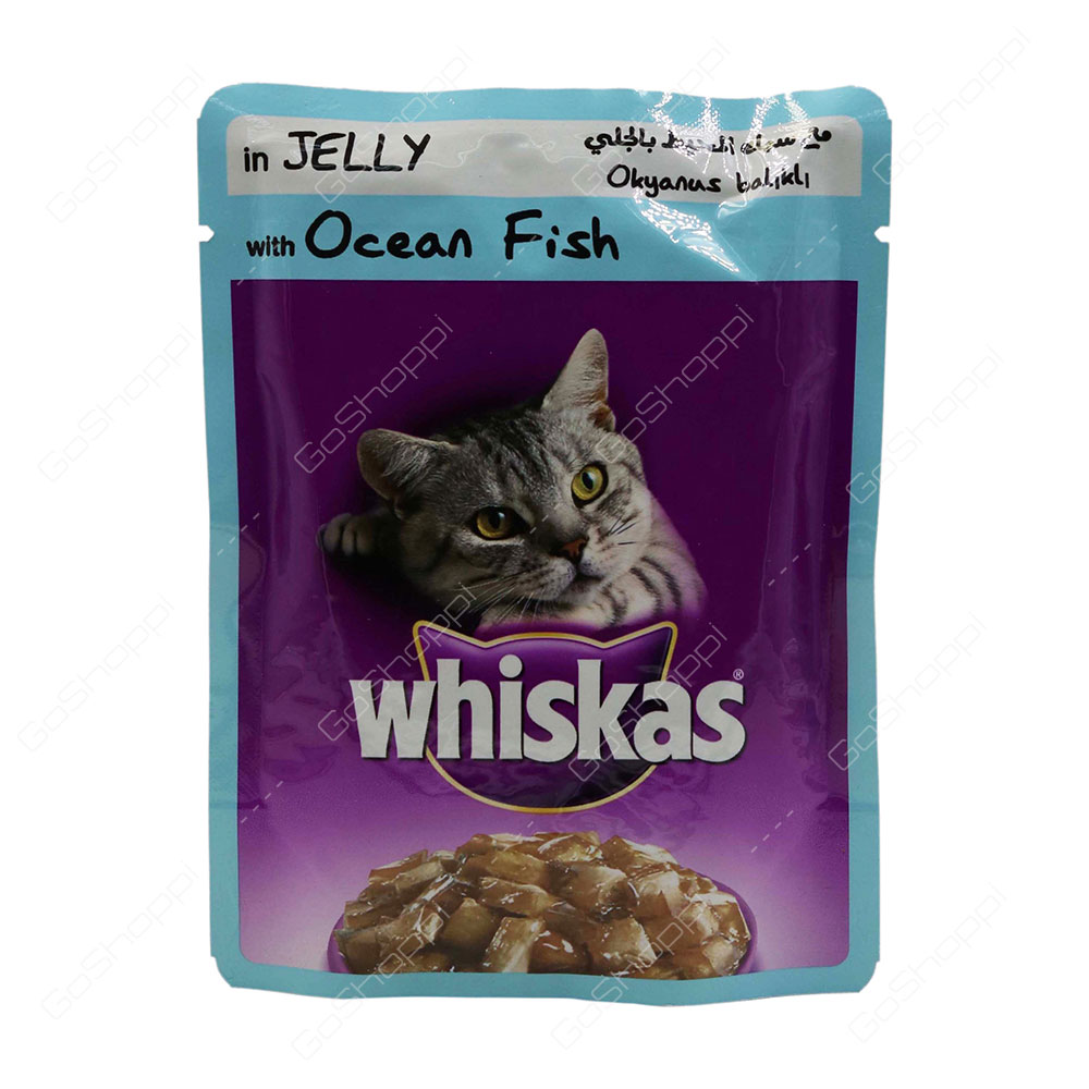 Whiskas In Jelly With Ocean Fish 85 g