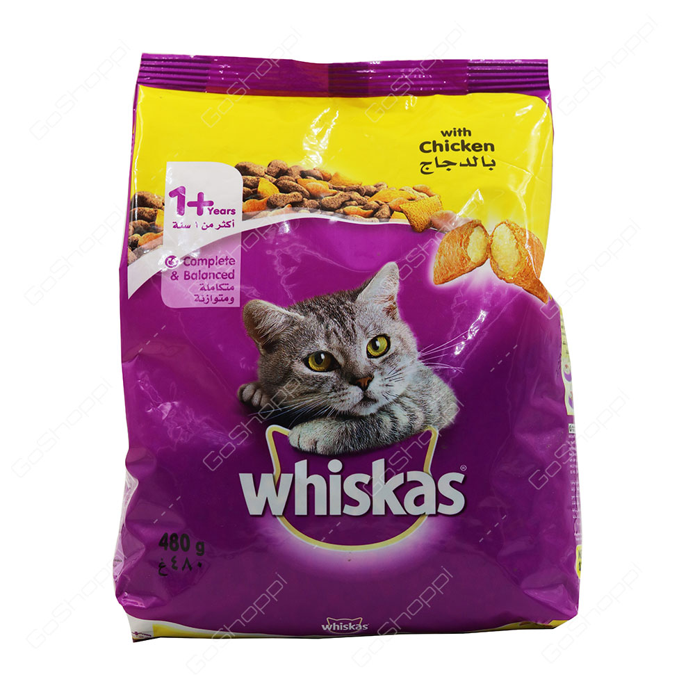 Whiskas With Chicken 1 Plus Years 480 g