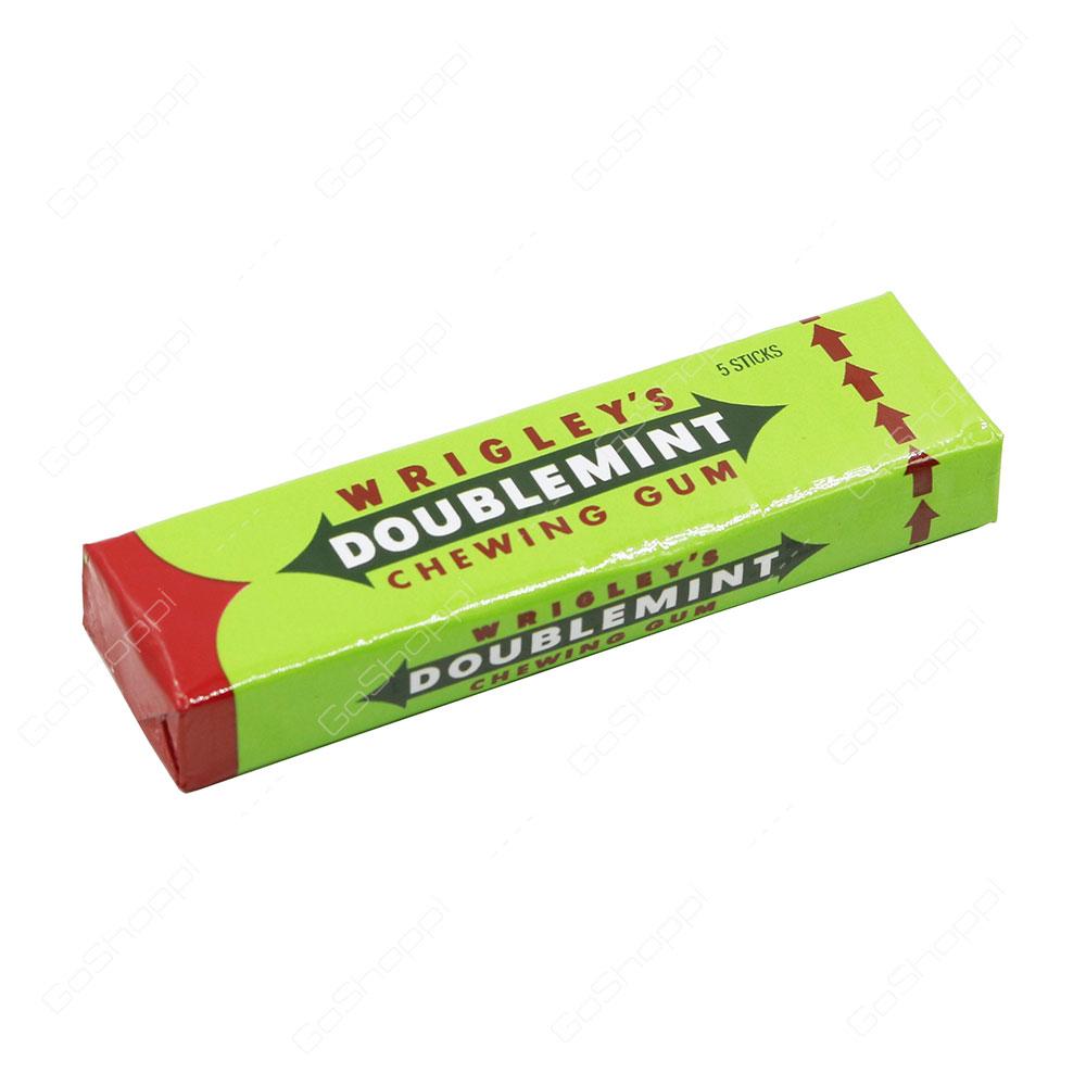 Wrigleys Doublemint Chewing Gum 5 Sticks