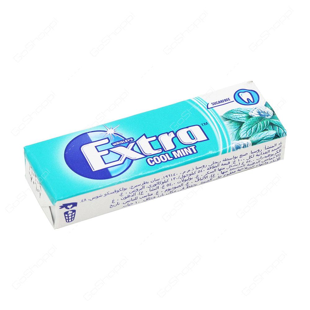 Wrigleys Extra Cool Mint 10 Pellets
