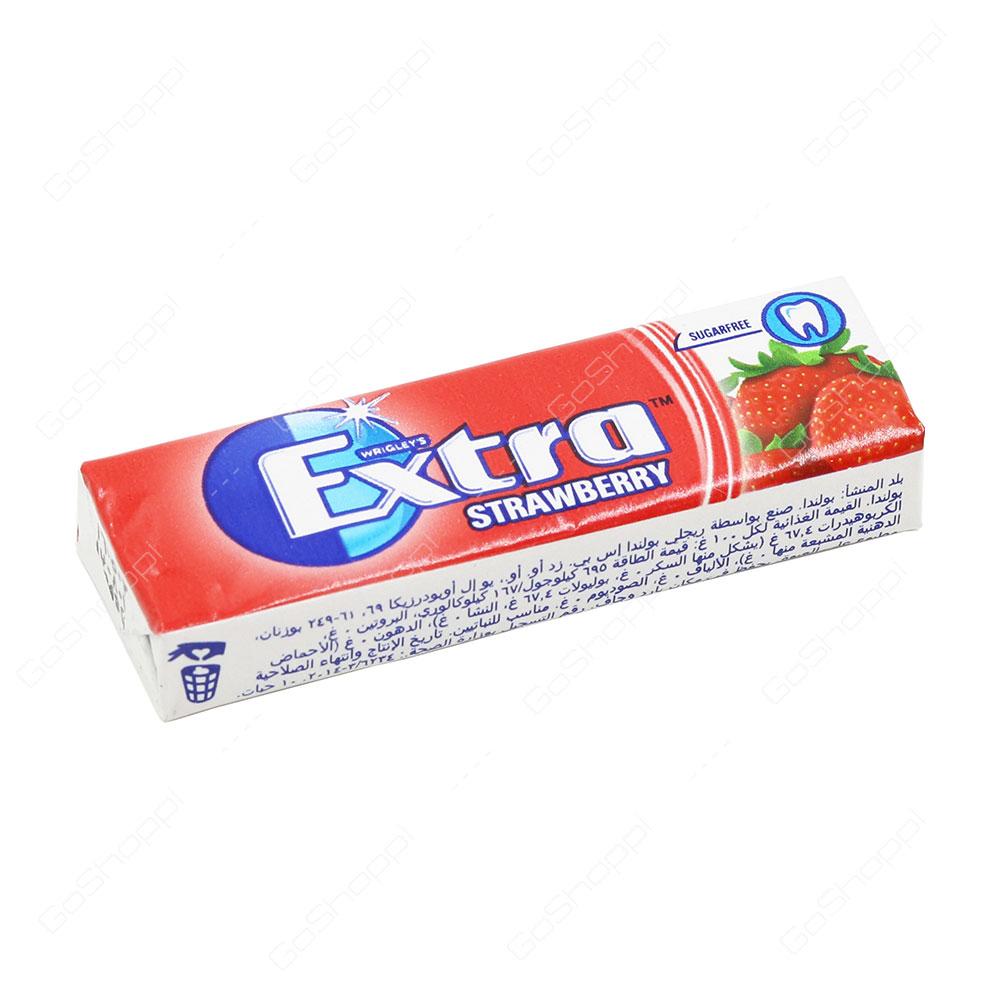 Wrigleys Extra Strawberry 10 Pellets