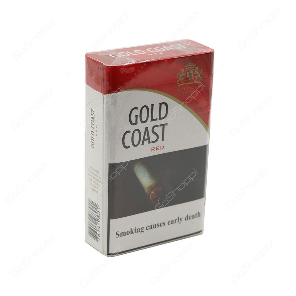 Gold Coast Red Cigarettes 20 pcs