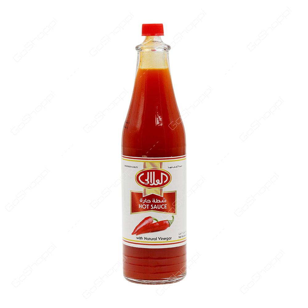Al Alali Hot Sauce With Natural Vinegar 176 ml