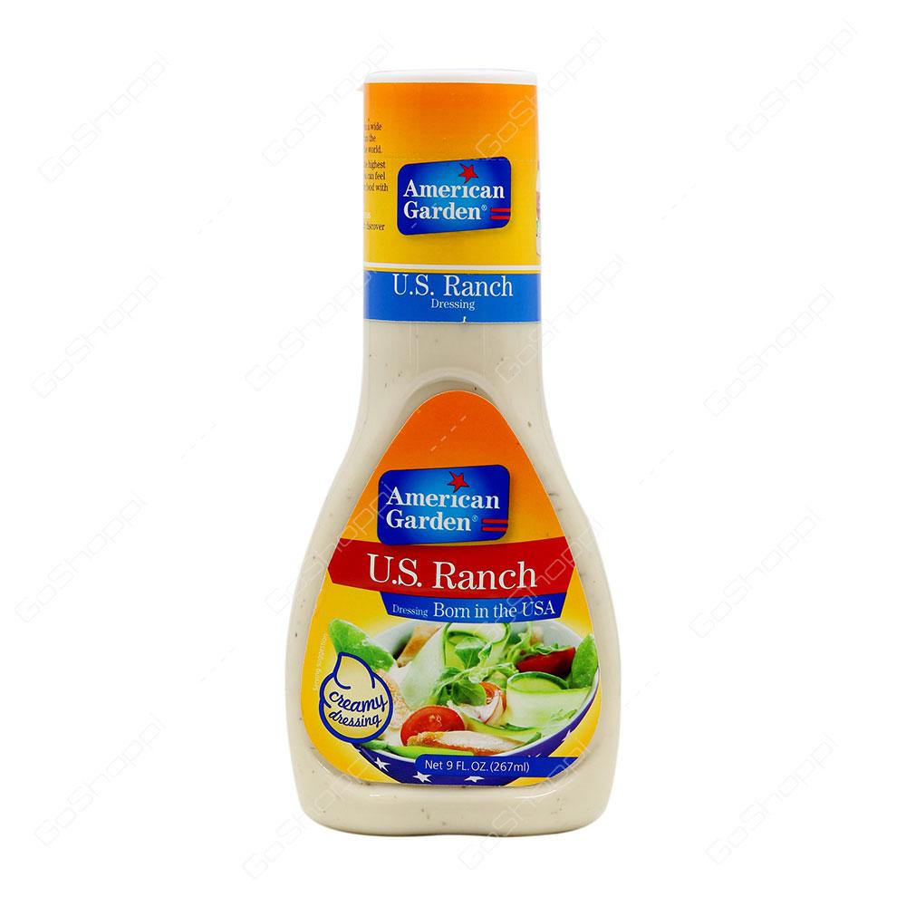 American Garden US Ranch Creamy Dressing 267 ml