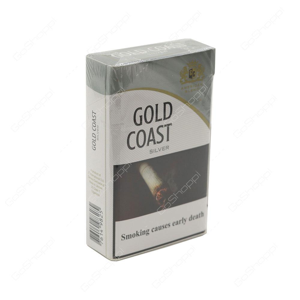 Gold Coast Silver Cigarettes 20 pcs