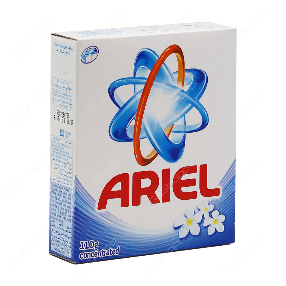 Ariel Blue Top Load Concentrated Washing Powder 110 g