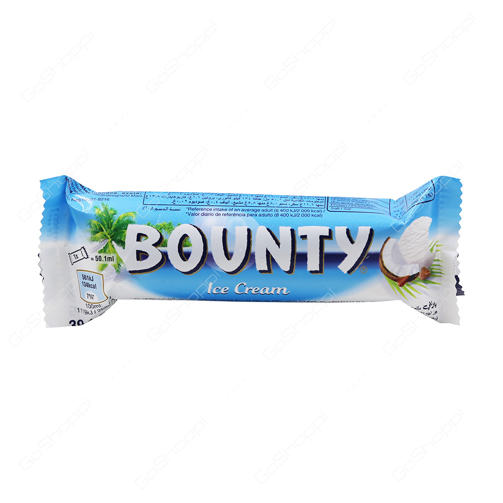 Bounty Ice Cream Bar 50.1 ml