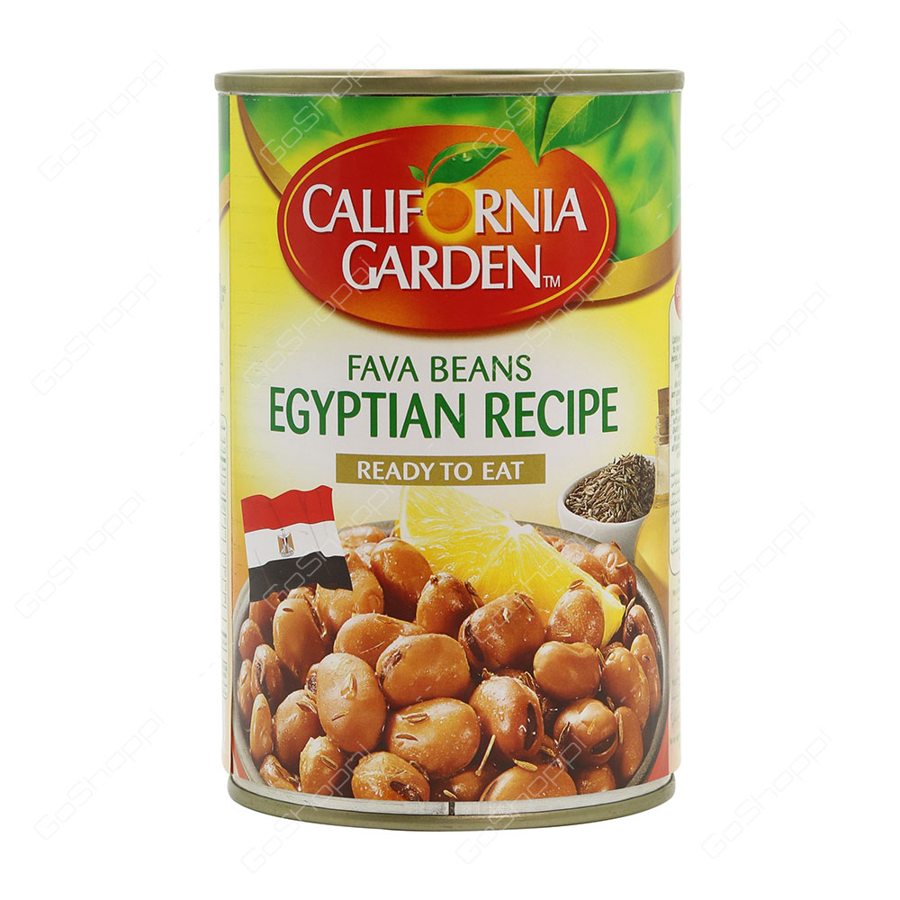 California Garden Fava Beans Egyptian Recipe 450 g