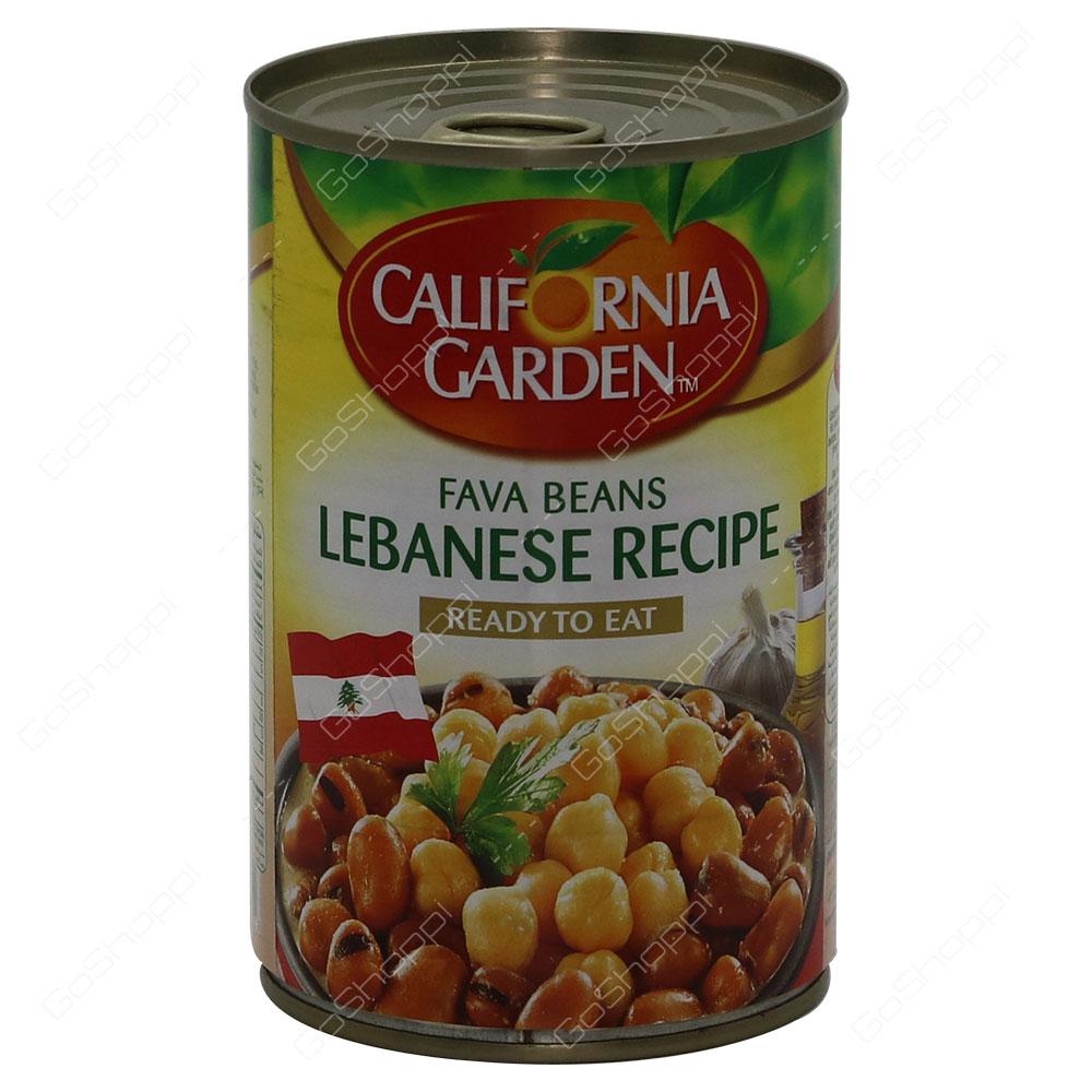California Garden Fava Beans Lebanese Recipe 450 g