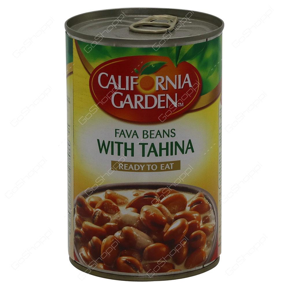 California Garden Fava Beans With Tahina 450 g