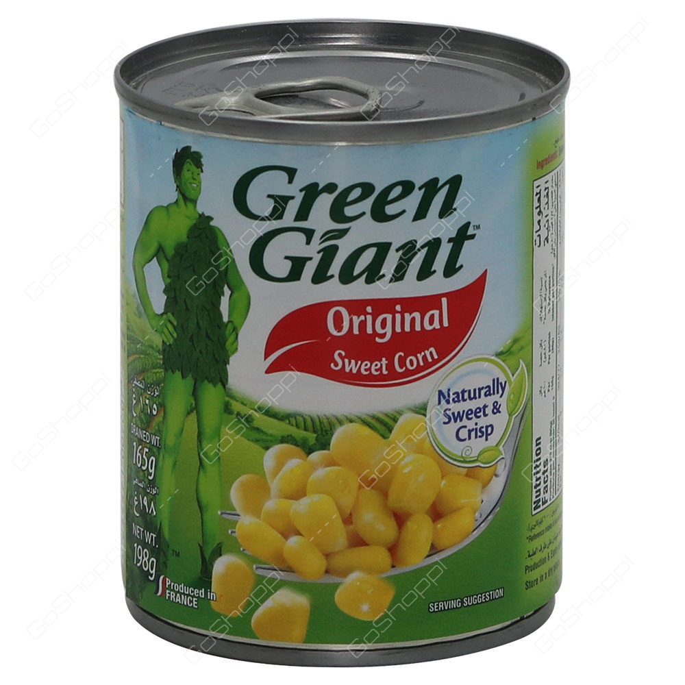 Green Giant Original Sweet Corn Naturally Sweet And Crispy 198 g
