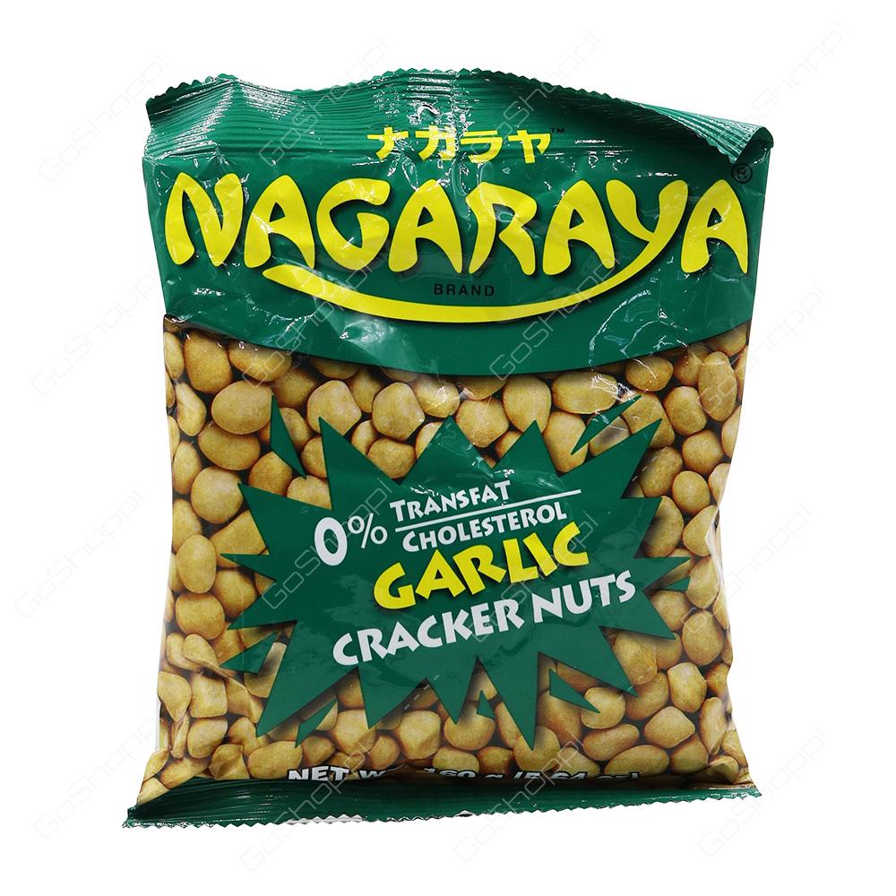 Nagaraya Garlic Cracker Nuts 160 g
