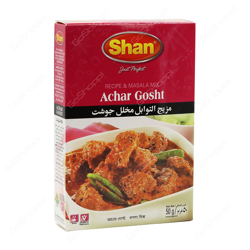 Shan Achar Gosht Spice Mix 50 g