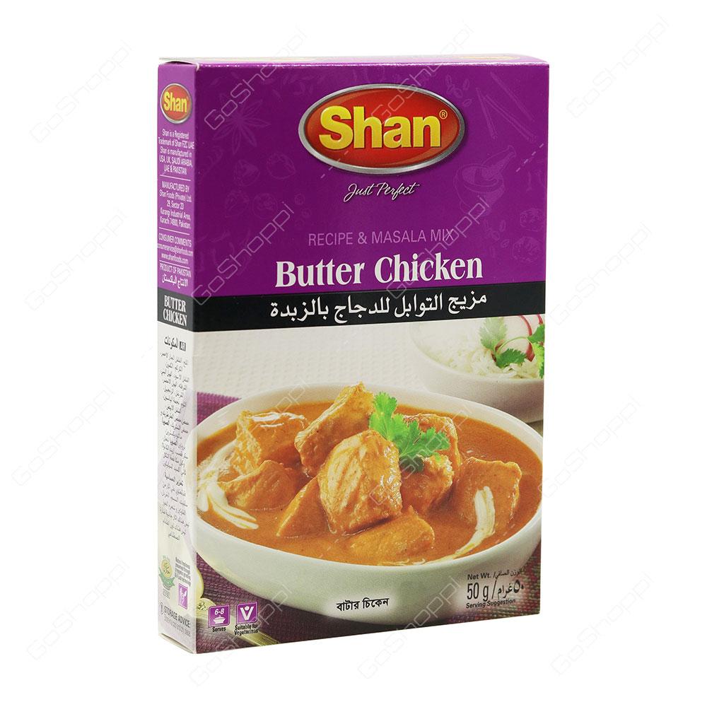 Shan Butter Chicken Spice Mix 50 g