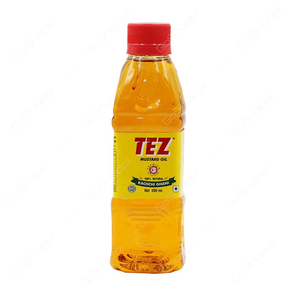 Tez Mustard Oil 200 ml